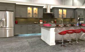 Shaker gray kitchen