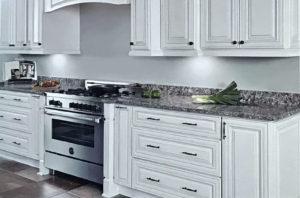 Classic Oatmeal Cabinets