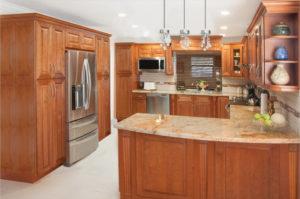 coffee glaze kitchen and vanity cabinets