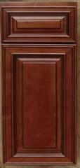 Mocha Mitre cabinets