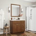 Quincy Brown Vanity Cabinets