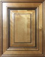 Amber Glaze sample door