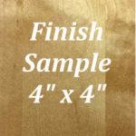Amber Glaze Finish Sample