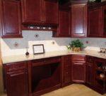 Builder Cherry Glaze Cabinets