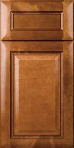 Builder Cinnamon Cabinets