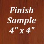 Cambridge Finish Sample