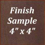 Caramel Maple Finish Sample