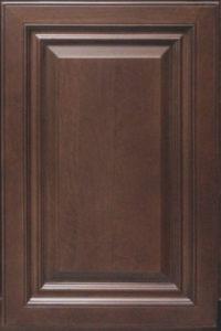Caramel Maple sample door