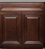 Caramel Maple Vanity Cabinets