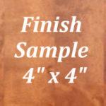 Charleston Chestnut Finish Sample