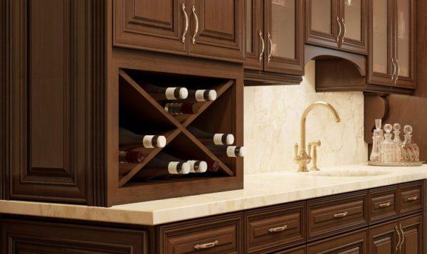 Charleston Saddle Cabinets detail