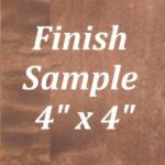 Charleston Walnut Finish Sample