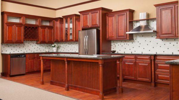 Charleston Cherry Cabinets
