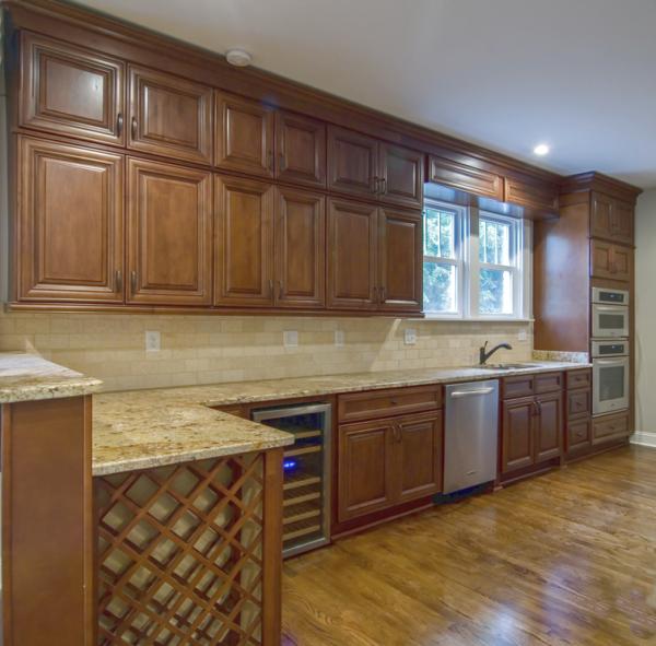 Charleston Coffee Kitchen Cabinets