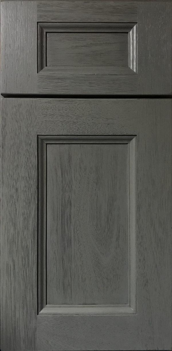 Dark Paint Shaker Cabinets