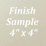 Ivory White Finish Sample