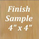 Lancaster Oak Finish Sample