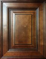 Mocha Glaze cabinets