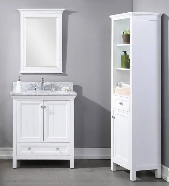Shop plantation white vanities