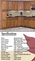 Regal Oak Cabinets