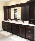 Shaker Espresso Vanity cabinets