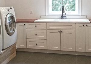 Shaker Light Gray Kitchen