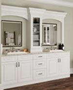 Tahoe white vanity