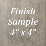 Winchester gray finish sample